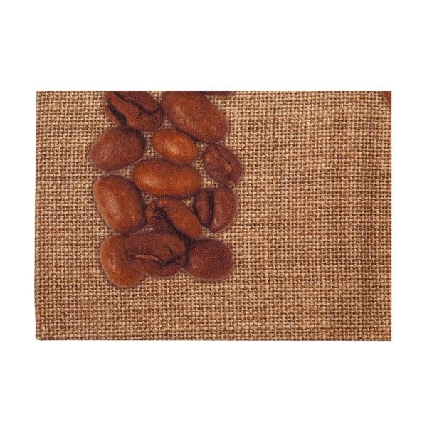 Vysoce odolný kuchyňský koberec Webtappeti Love Coffee, 60x110 cm