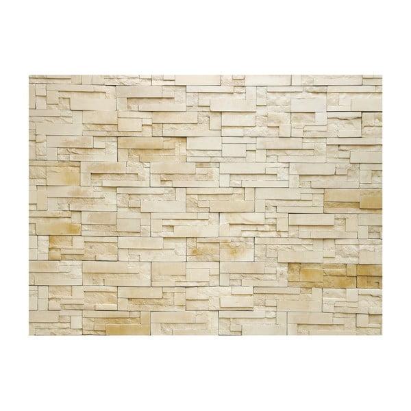 Velkoformátová tapeta Pískovcová zeď, 315x232 cm
