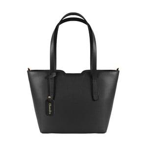 Černá kožená kabelka Maison Bag Alicia