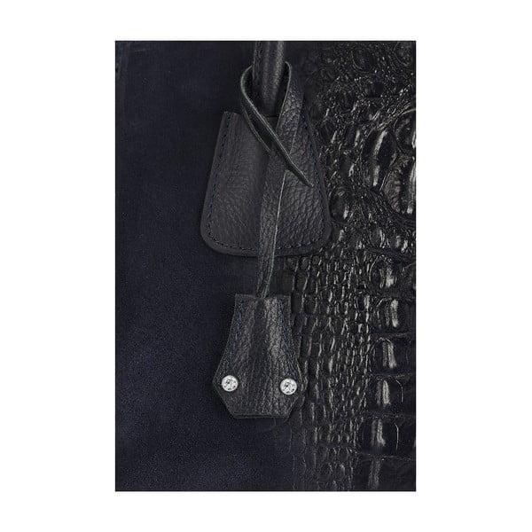 Kožená kabelka Giorgio Costa 15018 Blue