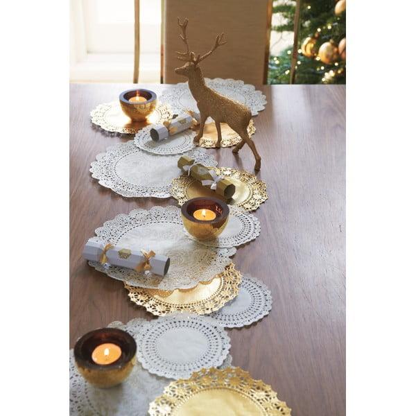 Zlatý dekorativní jelen Talking Tables