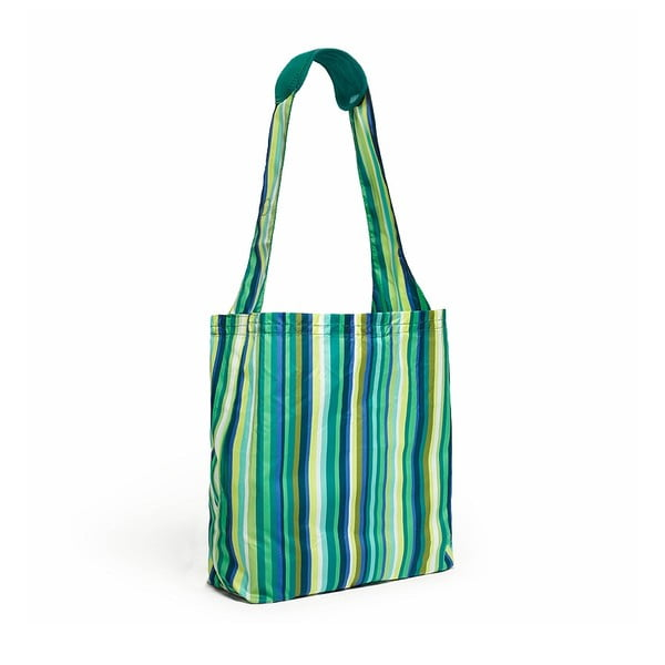 Taška Comfy Reusable Shopper, Emerald Stripe