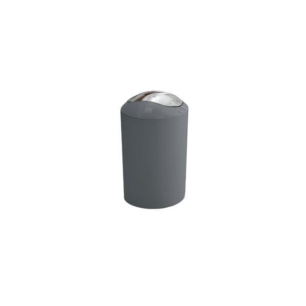 Odpadkový koš Glossy Silver, 3 l