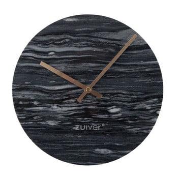 Ceas de perete din marmură Zuiver Marble Time, gri de la Zuiver