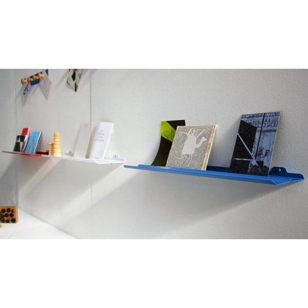 Nástěnná police Tab Shelf by Phil Procter, modrá