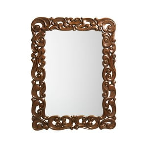 Zrcadlo v rámu z mahagonového dřeva Moycor, 90 x 120 cm