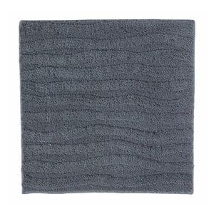 Tmavě šedá koupelnová předložka Aquanova Taro, 60x60cm