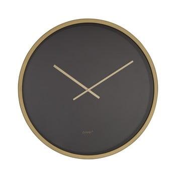 Ceas de perete Zuiver Time Bandit negru - alămiu