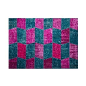 Vlněný koberec Allmode Zig Fush, 150x80 cm