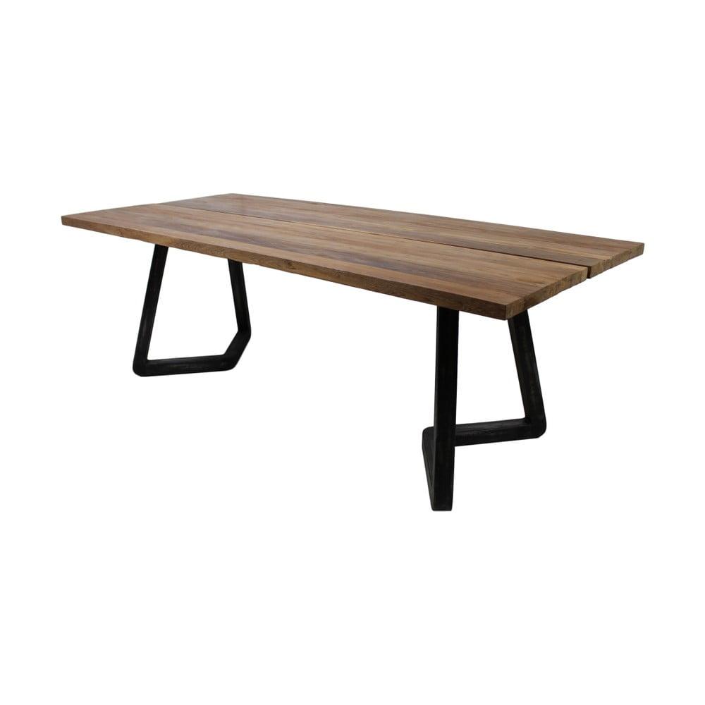 Jídelní stůl z teakového dřeva HSM Collection Vintage, 100 x 180 cm