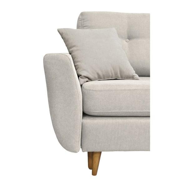 Canapea extensibilă Mazzini Sofas Rose, crem