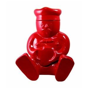 Dóza na sušenky Claude, červená