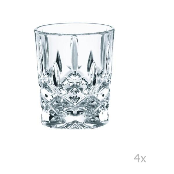 Sada 4 panáků z křišťálového skla Nachtmann Noblesse, 55 ml
