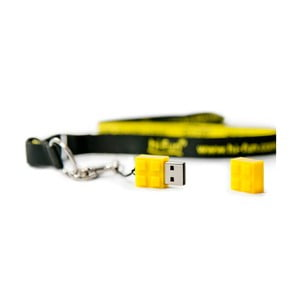 USB flashka Hi-Memory 4GB, žlutá