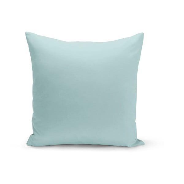 Bladoniebieska poduszka Lisa, 43x43 cm