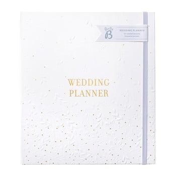 Planificator de nunta cu buzunare pentru depozitare Busy B,alb imagine