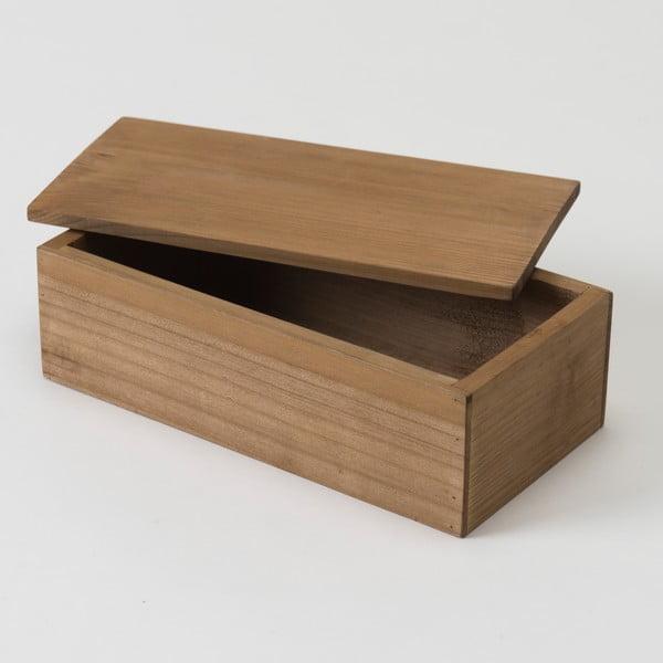 Úložný box z jedlového dřeva Compactor Vintage, šířka23,5cm