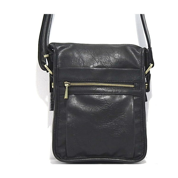 Taška přes rameno Bobby Black - černá, 19x26 cm