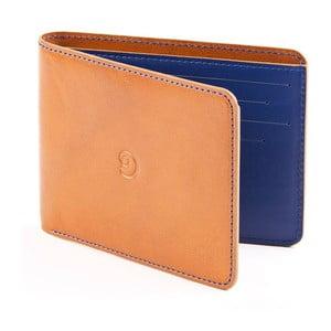 Danny P. kožená peněženka Slim Cognac