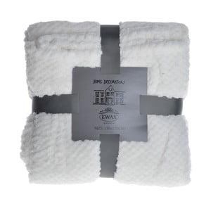 Pléd Koc 130x170 cm, bílý