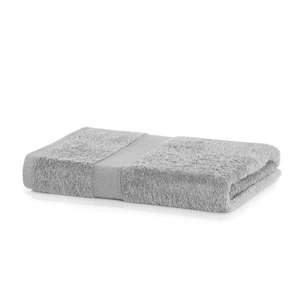 Bamby Silver szürke fürdőlepedő, 70 x 140 cm - DecoKing