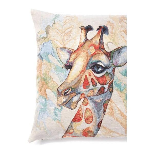 Povlak na polštář Giraffe, 45x45 cm