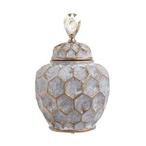 Recipient din ceramică InArt Diamond, înălțime 35,5 cm