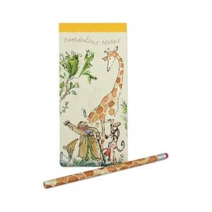 Sada notýsku a tužky Roald Dahl by Portico Designs