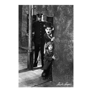 Plakát Charlie Chaplin, 61x91 cm