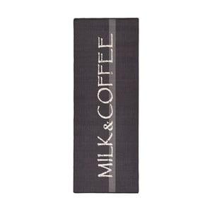 Šedý kuchyňský koberec HanseHomeMilk&Coffee, 67x180cm