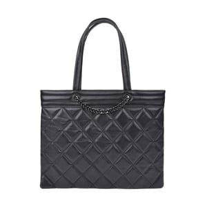 Černá kožená kabelka Roberta M Margot