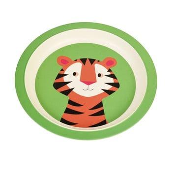 Farfurie din bambus pentru copii Rex London Teddy the Tiger imagine