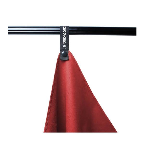 Červená rychleschnoucí osuška DecoKing EKEA, 60 x 120 cm