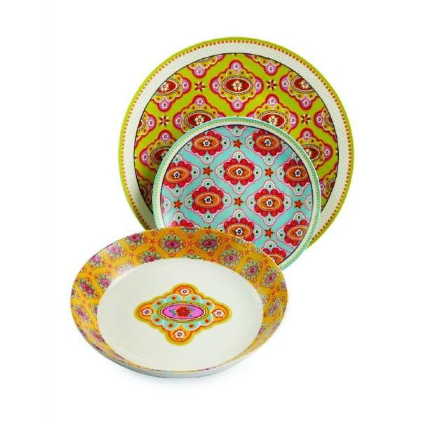 Sada porcelánových talířů Dinasty, 18 ks