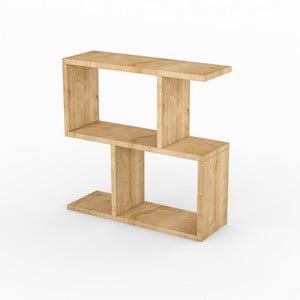 Příruční stolek v dekoru světlého dubového dřeva Life Oak