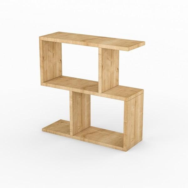 Príručný stolík v dekore svetlého dubového dreva Life Oak
