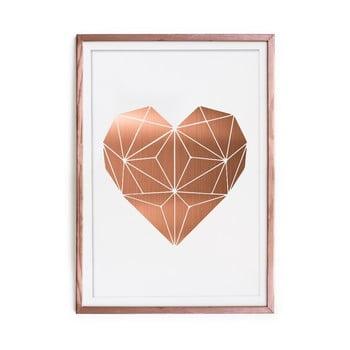 Tablou/poster înrămat Really Nice Things Cobre Heart, 60 x 40 cm de la Really Nice Things