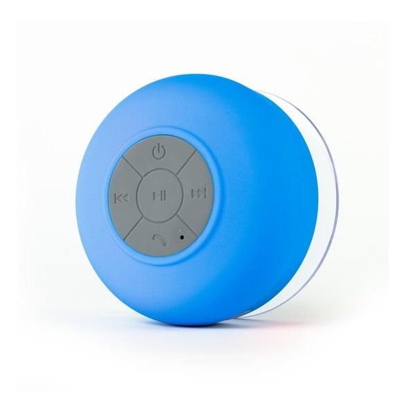 Reproduktor vhodný do sprchy FRESHeTECH Splash Tunes, modrý