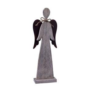 Dřevěný dekorativní anděl Ego dekor Nina, výška40cm