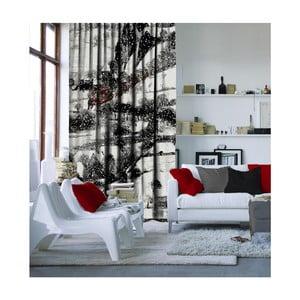 Vánoční závěs Winter, 140 x 260 cm