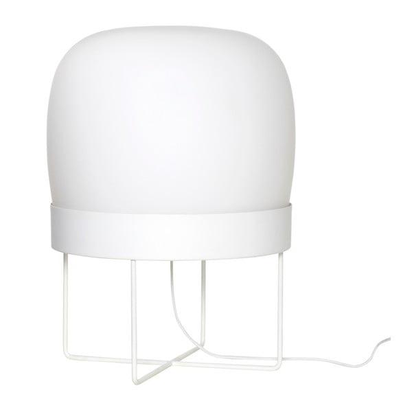 Bílá volně stojící lampa Hübsch Karetto