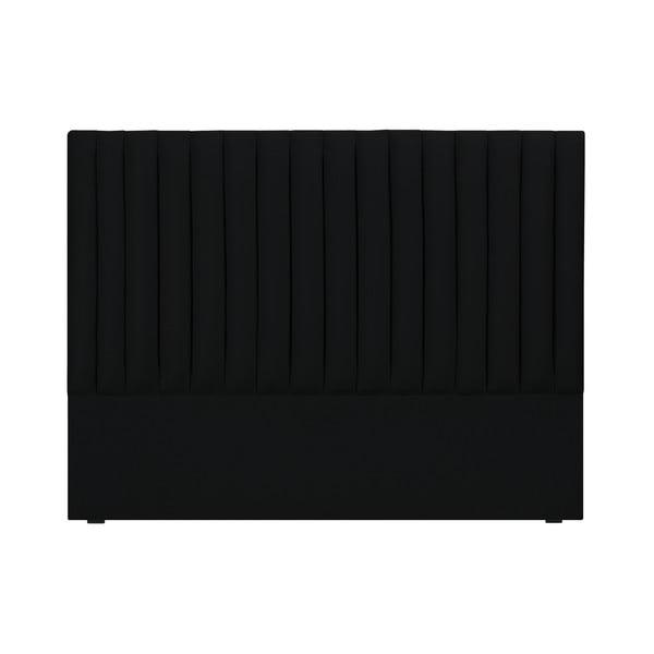 NJ fekete ágytámla, 200 x 120 cm - Cosmopolitan design