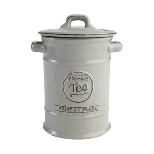 Šedá keramická dóza na čaj T&G Woodware Pride of Place