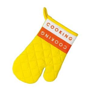 Kuchyňská rukavice Madlene, žlutá