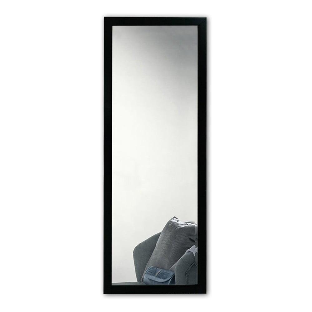 Nástěnné zrcadlo s černým rámem Oyo Concept, 40 x 105 cm
