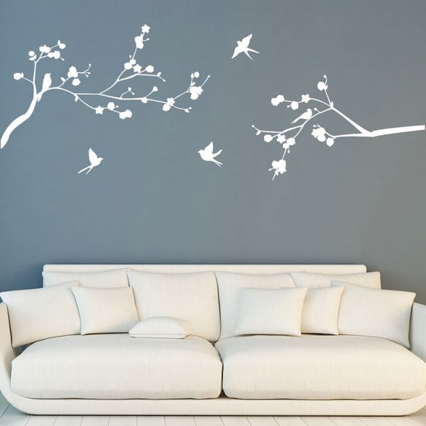 Samolepka Ambiance Flight Of Birds, 55 × 75 cm