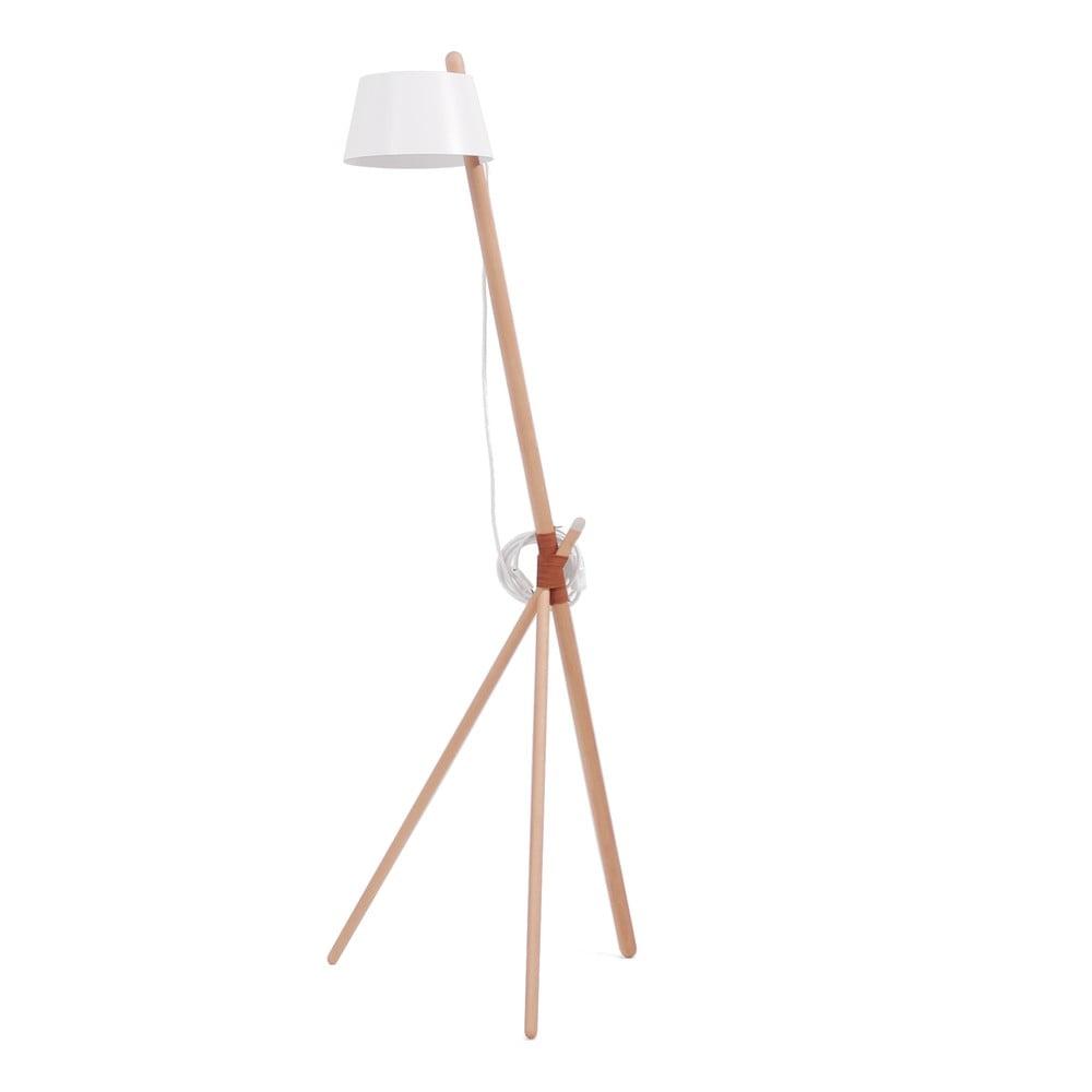 Bílá volně stojící lampa Woodendot Ka M