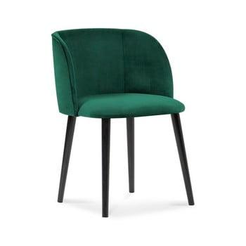 Scaun cu înveliș de catifea Windsor & Co Sofas Aurora, verde de la Windsor & Co Sofas