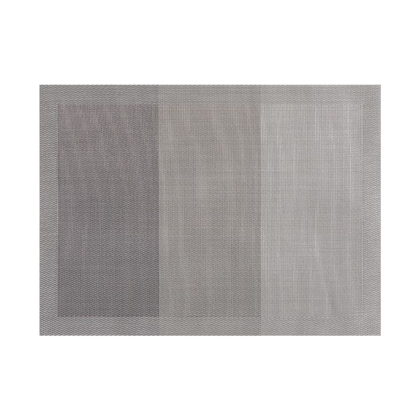 Šedé prostírání Tiseco Home Studio Jacquard, 45 x 33 cm
