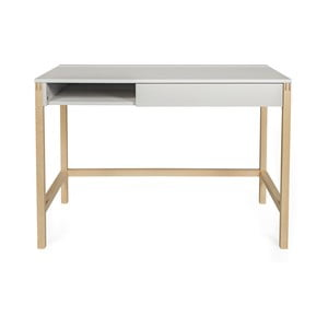 Pracovní stůl s šedou deskou Woodman NorthGate